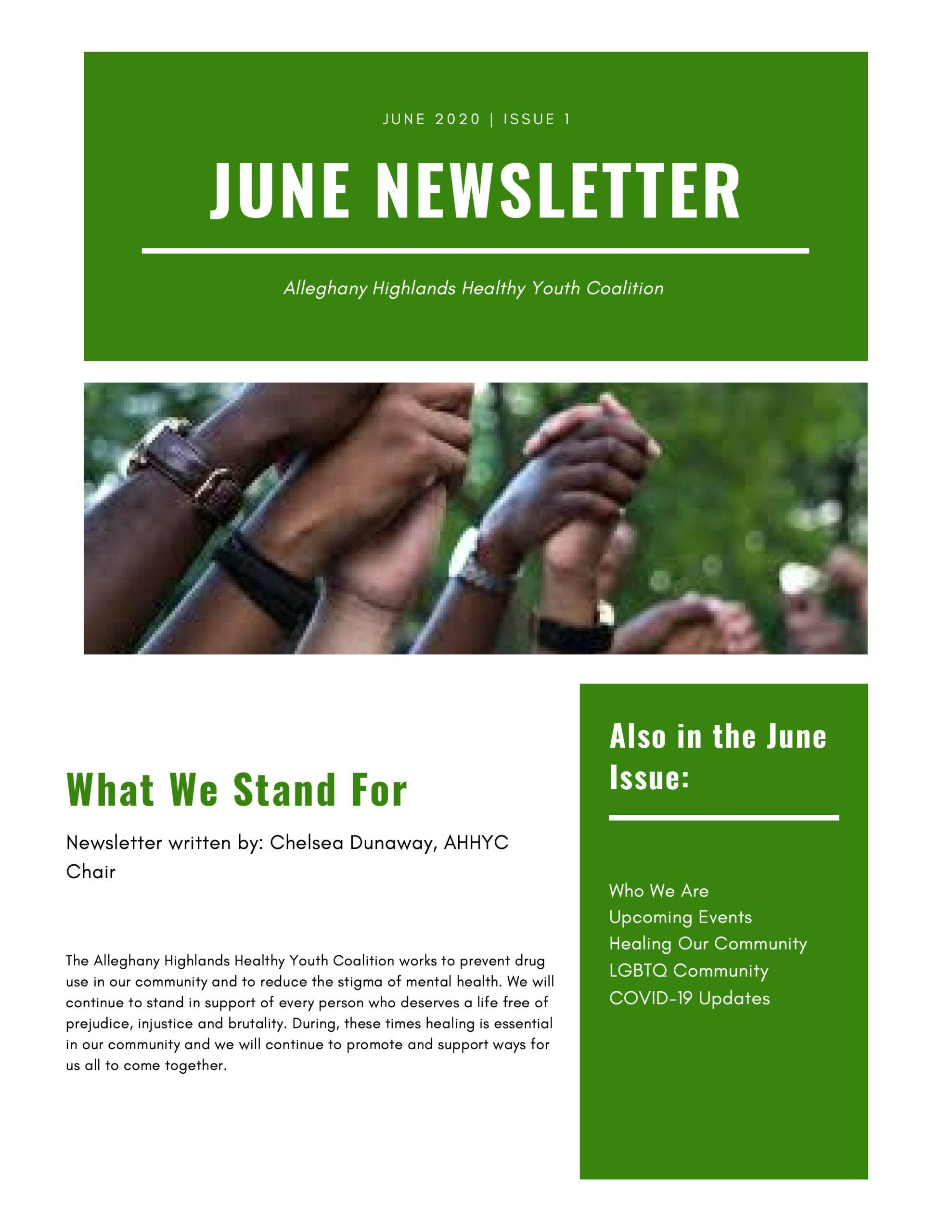 AHHYC June Newsletter 1